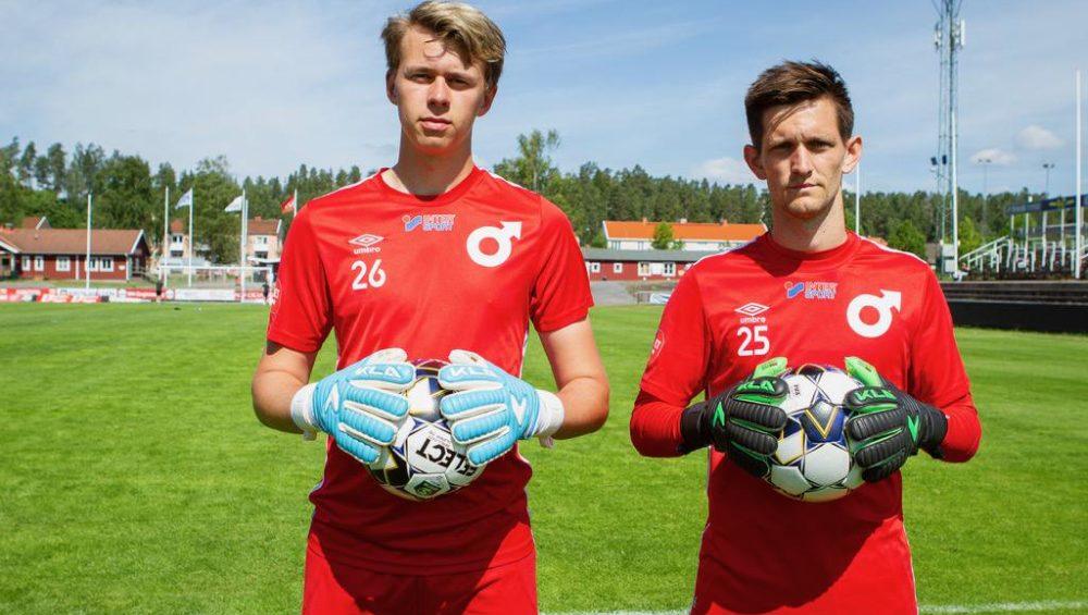 Hugo Claesson och Jeff Gal Degerfors IF
