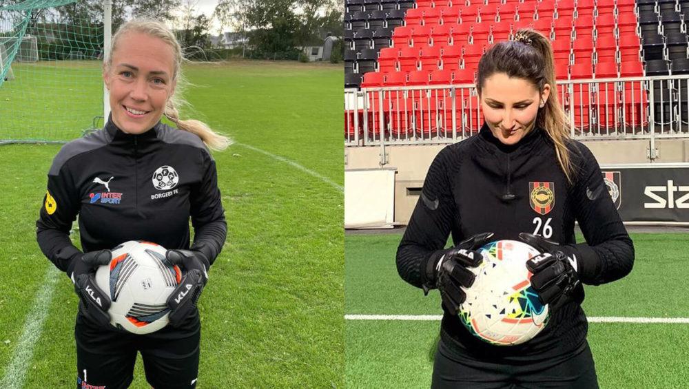 Josefin Månsson och Lovisa Koss
